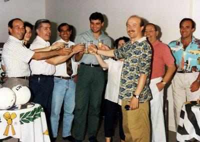 Cena con Peruzzi e Rampulla giugno 1993