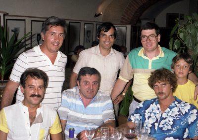Direttivo JC Montevarchi con Stefano Tacconi