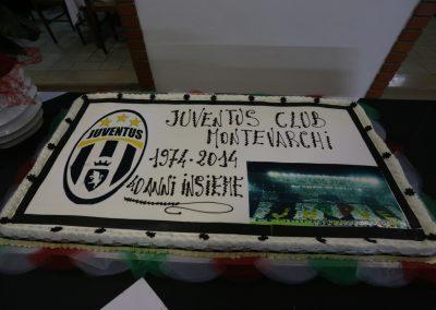 Dolce celebrativo quarantesimo anniversario JC Montevarchi