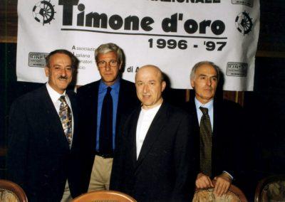 Maggio 1998 Giannini e Fabbrini con Marcello Lippi