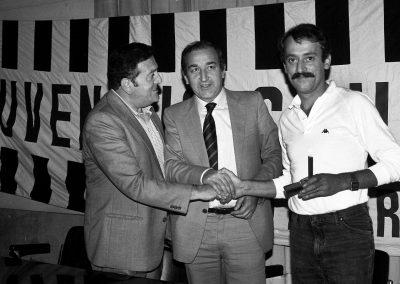 Premiazione Vestri Nedo da Giannini e Fruchi Ottobre 1983