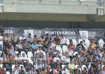 Striscione club Juventus Parma 11 settembre 2011
