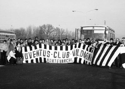 Trasferta JC Valdarno Lazio-Juventus 5 gennaio 1975