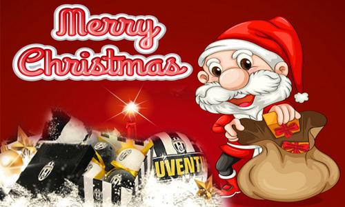 Juventus Buon Natale.Auguri Natale E Felice Anno Nuovo