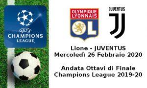 Lione-Juventus UCL 2019-2020