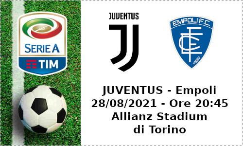 Juventus-Empoli Serie A 2021-2022